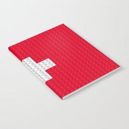 Swiss flag by Qixel Notebook