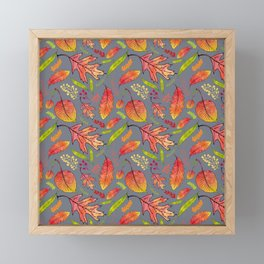 Autumn finery Framed Mini Art Print