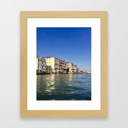 Venetian Waters Framed Art Print