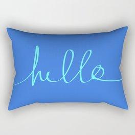 Hello, Sailor Rectangular Pillow