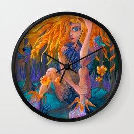 Paradise Godess Wall Clock