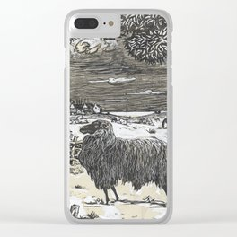 Sheep in a landscape , Richard Roland Holst, 1878 Clear iPhone Case