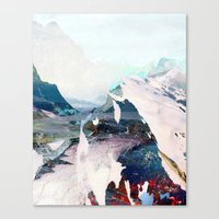 tchmo Canvas Prints featuring Untitled 20131108w (Landscape) by tchmo