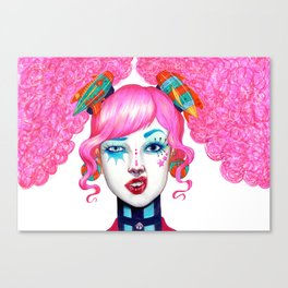 Not all clowns are Scary Canvas Print