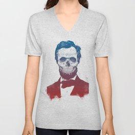 Dead Lincoln Unisex V-Neck