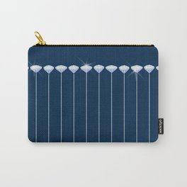 Pinstripe in Diamond Head Pins Carry-All Pouch
