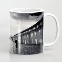 nordic Mugs featuring nordic scene by Mar Fernandez