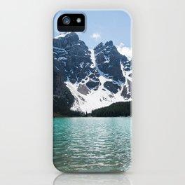 Landscape Lake Moraine Mountains iPhone Case