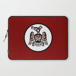 Northwest Pacific coast Kaigani Thunderbird Laptop Sleeve