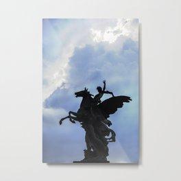 Pegaso A.Q. Metal Print
