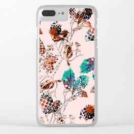 leave and branch Clear iPhone Case