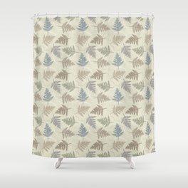 fern leaves pattern Shower Curtain