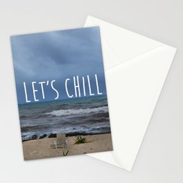 Let´s Chill Stationery Cards