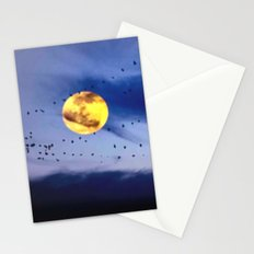 On a left along the moon and further to the east. Stationery Cards
