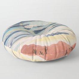 Painted Desert 1 Floor Pillow
