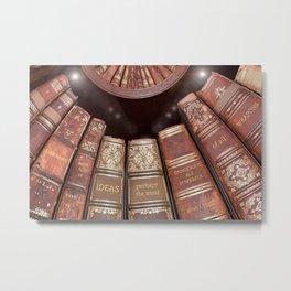 Libraries Were Full of Ideas Metal Print
