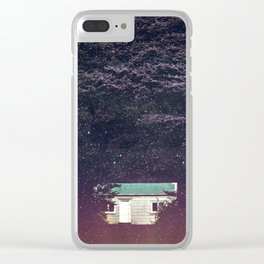 Tea party at 03:00 am Clear iPhone Case