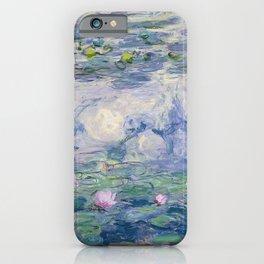 Water Lilies Claude Monet Fine Art iPhone Case