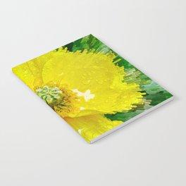 Yellow Poppy Notebook