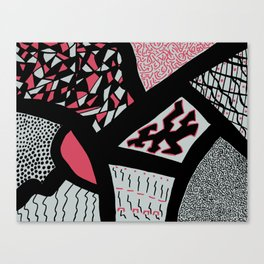 Out of my head Canvas Print