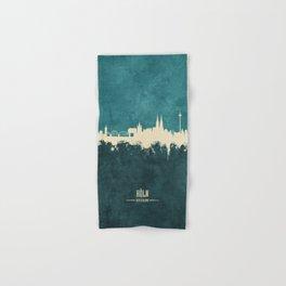 Cologne Germany Skyline Hand & Bath Towel