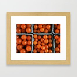 Cherry Tomatoes Framed Art Print