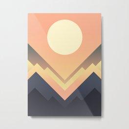 The Sun Rises Metal Print