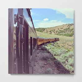 The Heber Valley Railroad Express Metal Print