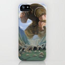 Gulliver Travels iPhone Case