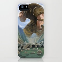 Gulliver Travels iPhone Case