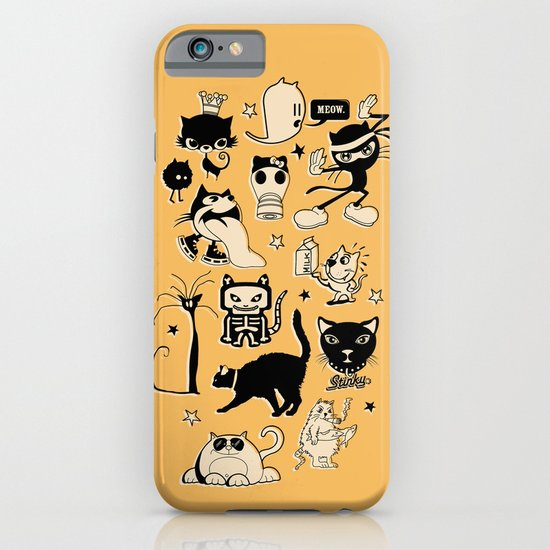 Cat Menagerie iPhone & iPod Case