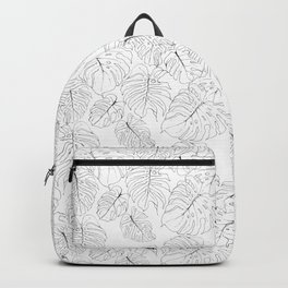 Monstera Deliciosa (Delicious Monster Leaves) Backpack