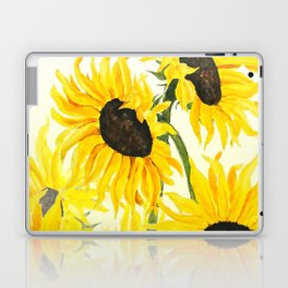 sunflower watercolor 2017 Laptop & iPad Skin