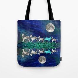 MOON CATS Tote Bag