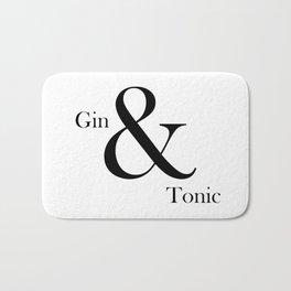 Gin & Tonic Bath Mat