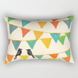 Carnival is coming to town Rectangular Pillow