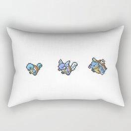 Blue Evolutions Squirtle/Wartortle/Blastoise Rectangular Pillow