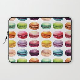 Macaroons Stacked Laptop Sleeve
