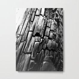 Charred Metal Print