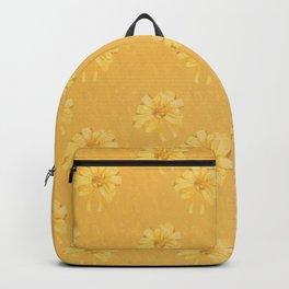 Yellow Orange Bows Backpack