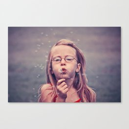 Blow Me Gently Canvas Print