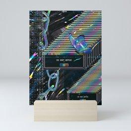 Error Tab Vaporwave Mini Art Print