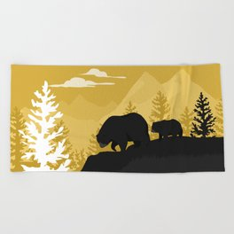 Bear Valley Beach Towel