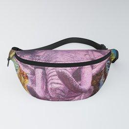 Pink Elephant Fanny Pack