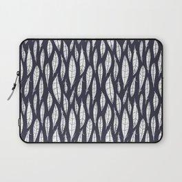 Quail Feathers (Midnight) Laptop Sleeve