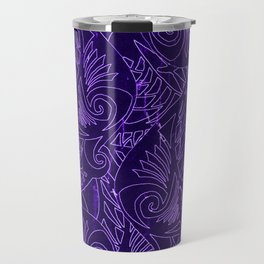 Purple Tapa Travel Mug