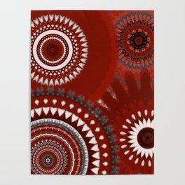 Ruby Mandalas Poster