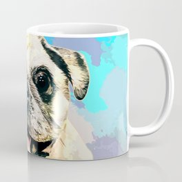 Pug pop art  Coffee Mug