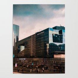 4Temps Cityscape Poster