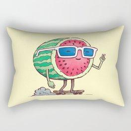 Watermelon Skater Rectangular Pillow